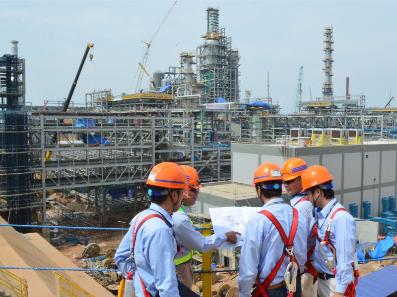 The RMP-2 project employed 16,000 workers. Image courtesy of Daelim.