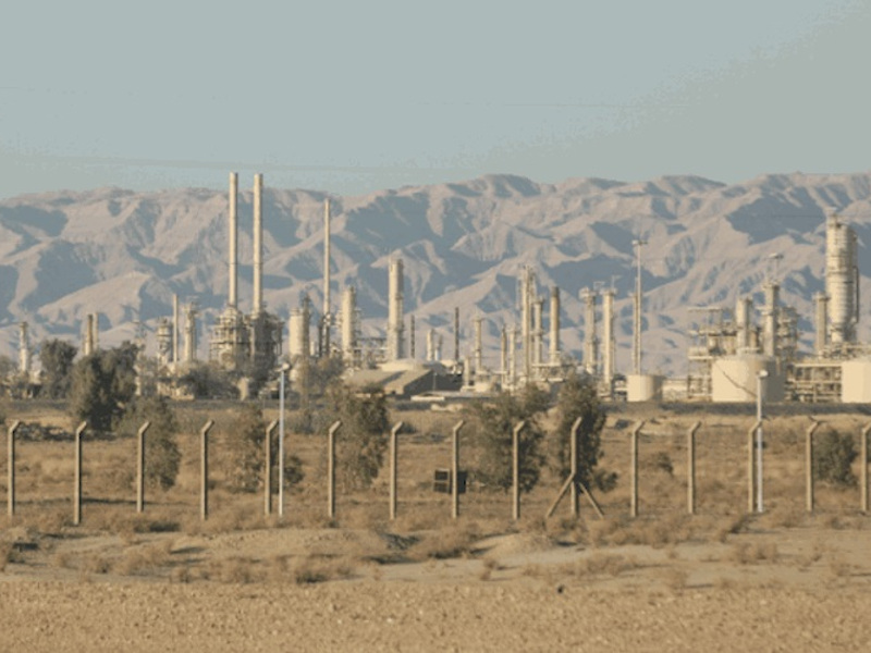 Karbala oil refinery is located in Karbala province, Iraq. Image courtesy of Stopson Italiana.