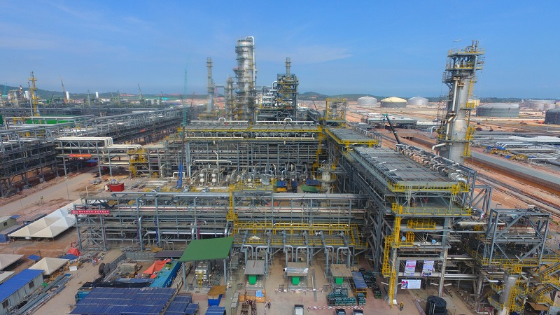 Malaysia-based company Petronas constructed an integrated petrochemical project to produce premium petroleum products. Image courtesy of Saudi Arabian Oil Company.