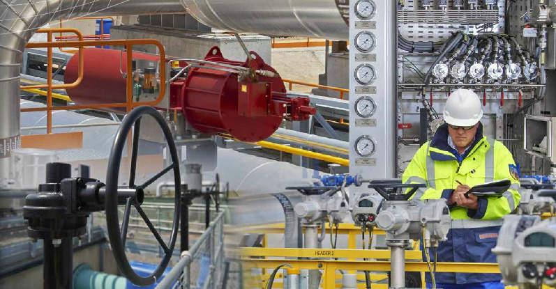 rotork facility worker