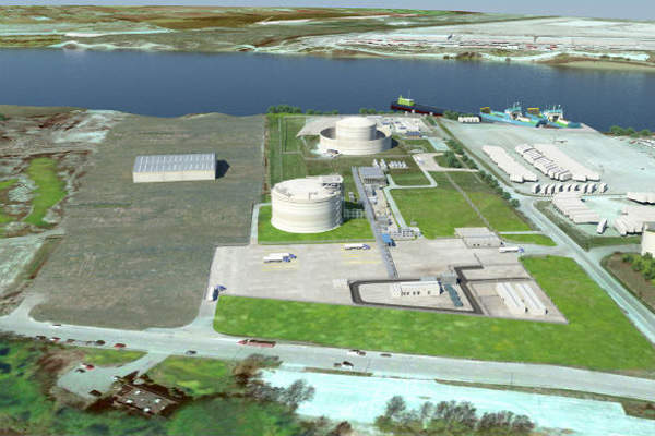 Tilbury LNG expansion
