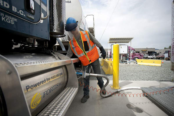 Over the last five years, FortisBC has seen a growth in demand for natural gas from the transportation sector. Image: courtesy of FortisBC.