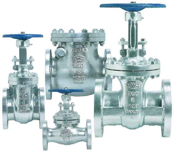 GWC cast steel valves gates