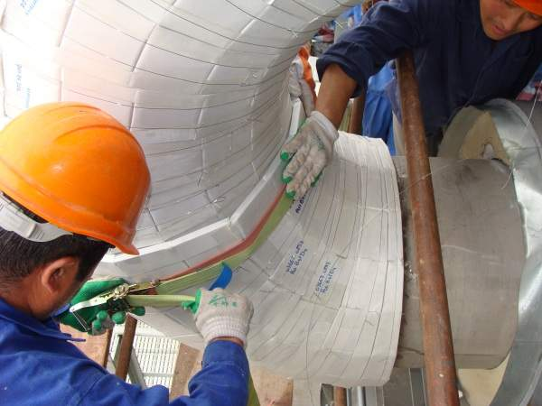 moulded pipe insulation