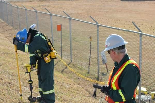 Pipeline external coating inspection testing