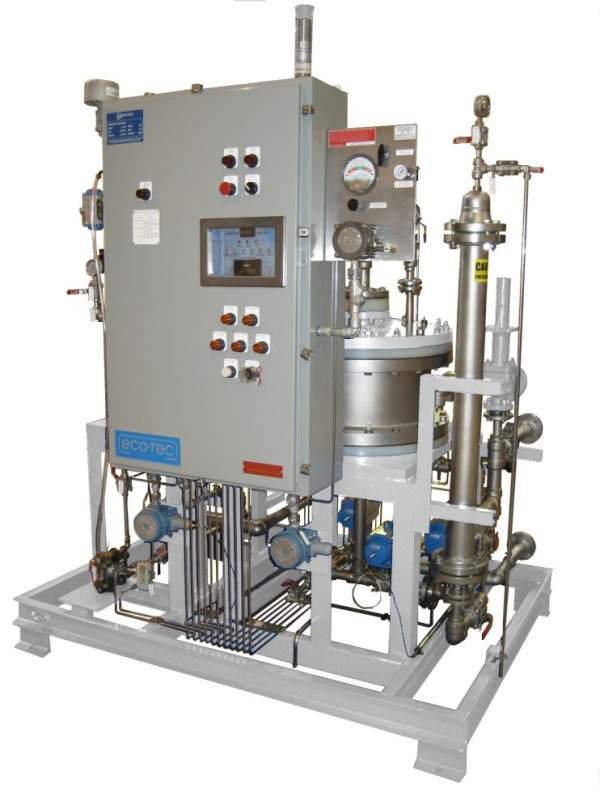 amine purification system