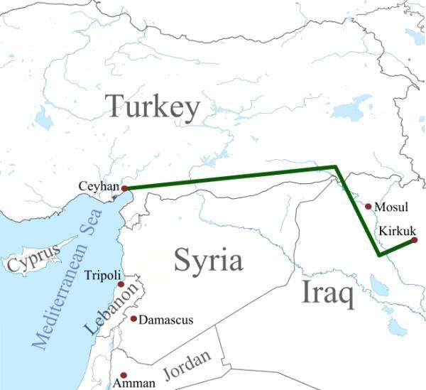 Kirkuk-Ceyhan Oil Pipeline