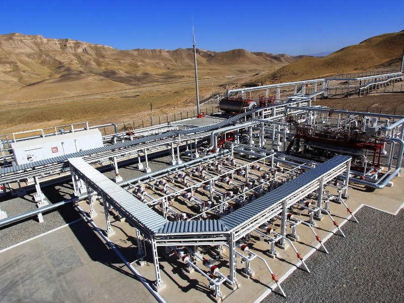 South-West Gissar project is located in the Kashkadarya region of Uzbekistan. Image courtesy of Lukoil.