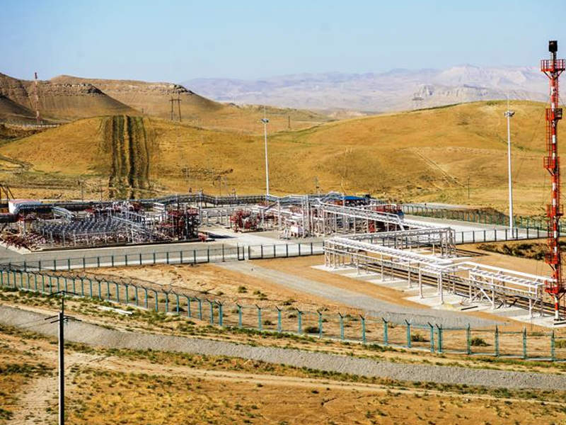 First production from the Gissar project was achieved in 2011. Image courtesy of Lukoil.