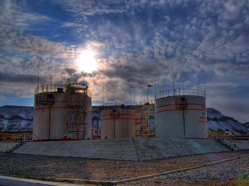 The South-West Gissar project includes seven oil and gas fields. Image courtesy of Lukoil.