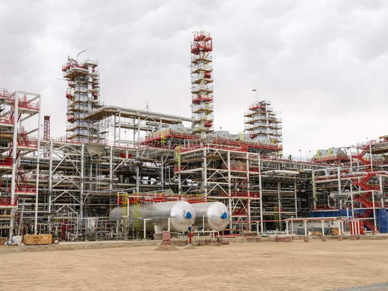 Full field development at the project was launched in 2014. Image courtesy of Lukoil.