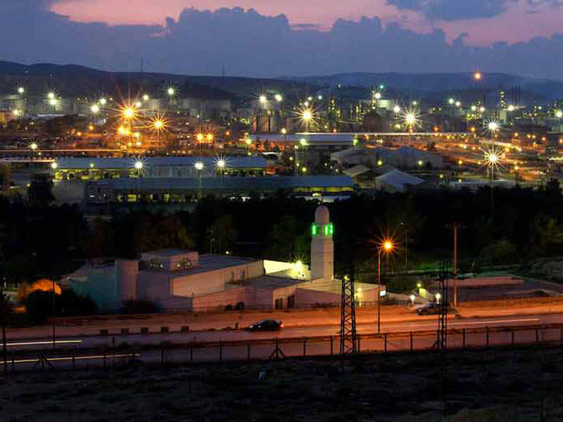 The Jordan Petroleum Refinery is located in Zarqa, Jordan. Credit: Jordan Petroleum Refinery Co Ltd.