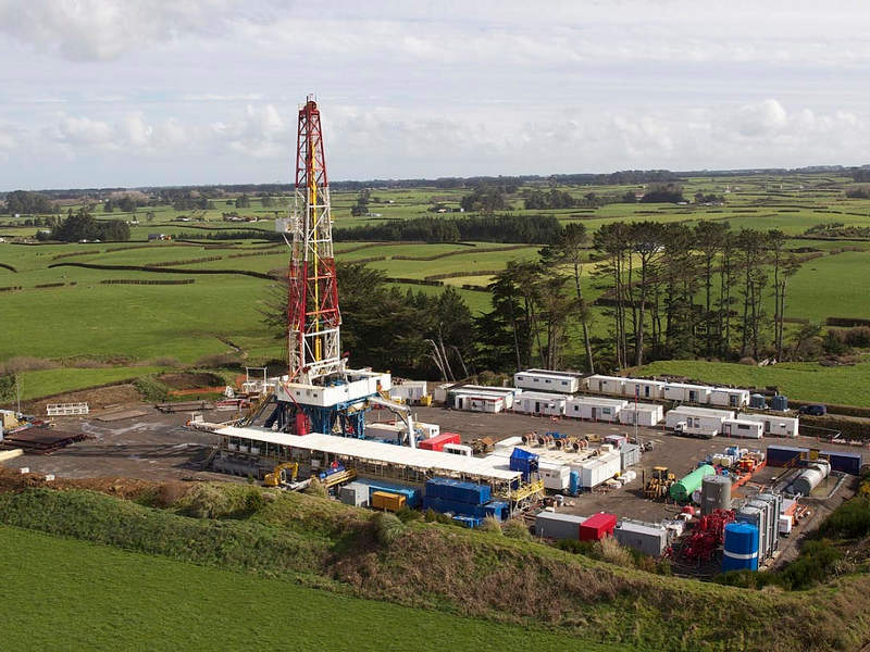 The Cardiff gas field is located in the Cheal oil permit area in New Zealand. Credit: TAG Oil.