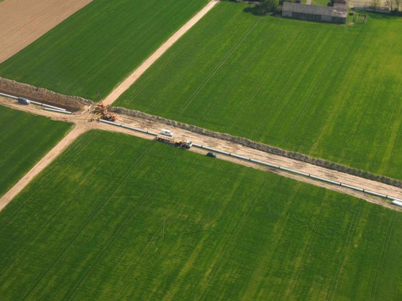 Gaz-System is developing the 168km Lwowek-Odolanow high-pressure gas pipeline in the Wielkopolskie and Dolnoslaskie regions of Poland. Credit: Gaz-System / European Investment Bank (EIB).