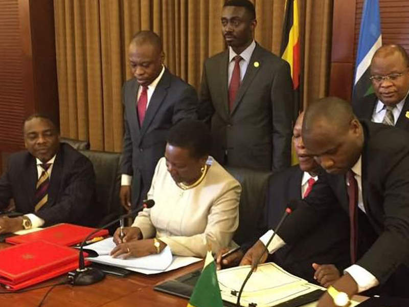 The pipeline project is being jointly developed by the governments of Uganda and Tanzania. Image courtesy of Total.