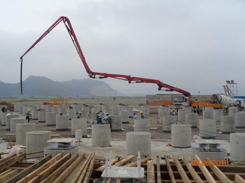 Zhoushan LNG import terminal is located in the Zhoushan Economic Development Zone in Zhejiang province, China. Credit: Meyts Structural Consulting.