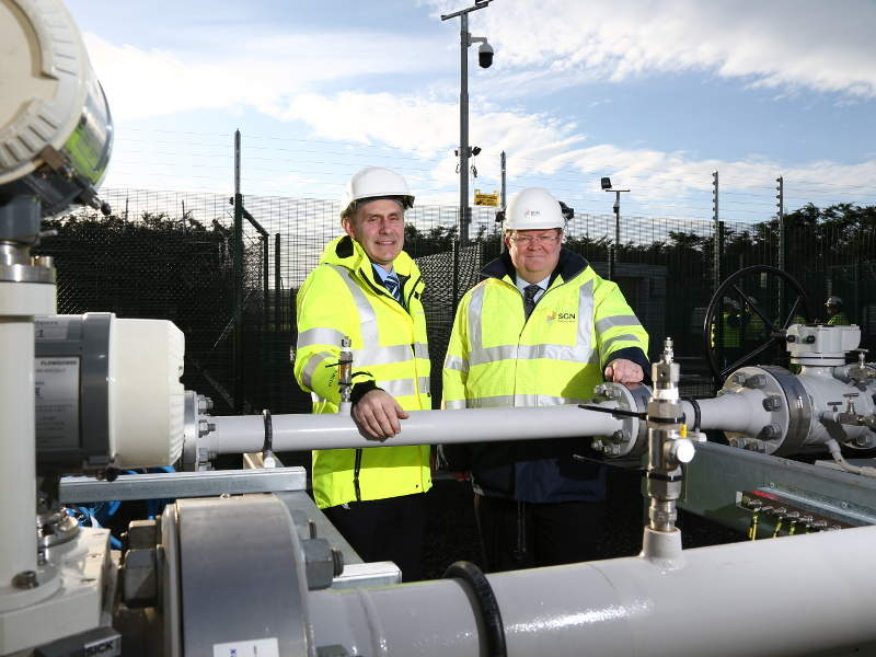 First phase of the Gas to the West project was commissioned in February 2017. Credit: Mutual Energy.