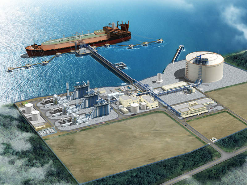 AES Colon and Inversiones Bahía are developing a 1.5 million tonnes (Mt) per year Costa Norte regasification terminal in Colon, Panama. Credit: BAM International.