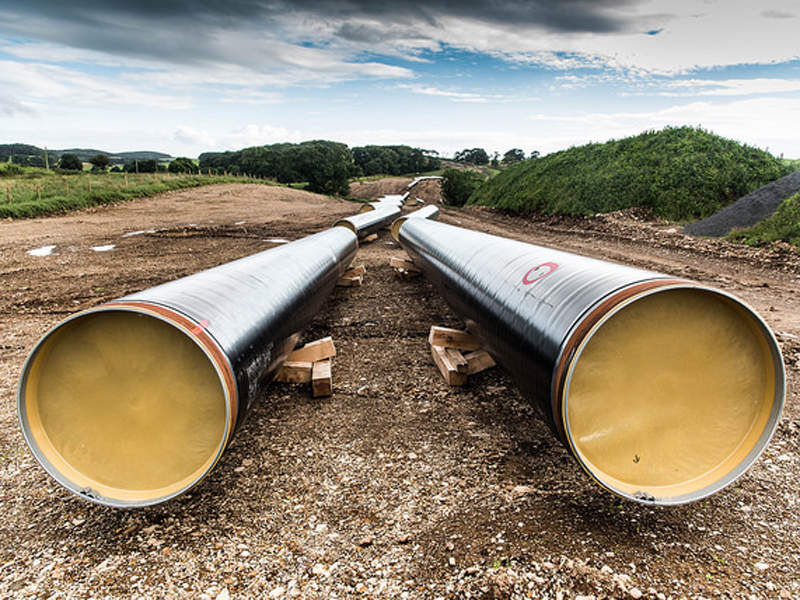 50km-long Cluden to Brighouse Bay gas pipeline