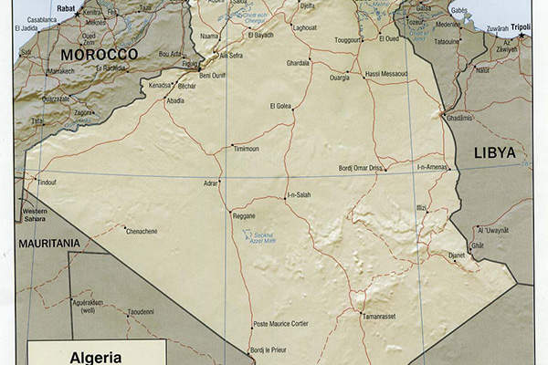 The Timimoun natural gas project is located in Algeria.