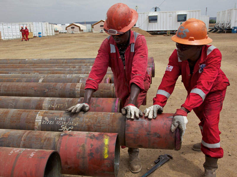 Exploration activities on the South Lokichar basin were carried out between 2011 and 2015. Credit: Tullow Oil.