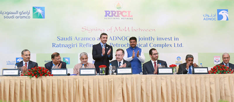Saudi Aramco and Adnoc to build $44bn refinery project in India