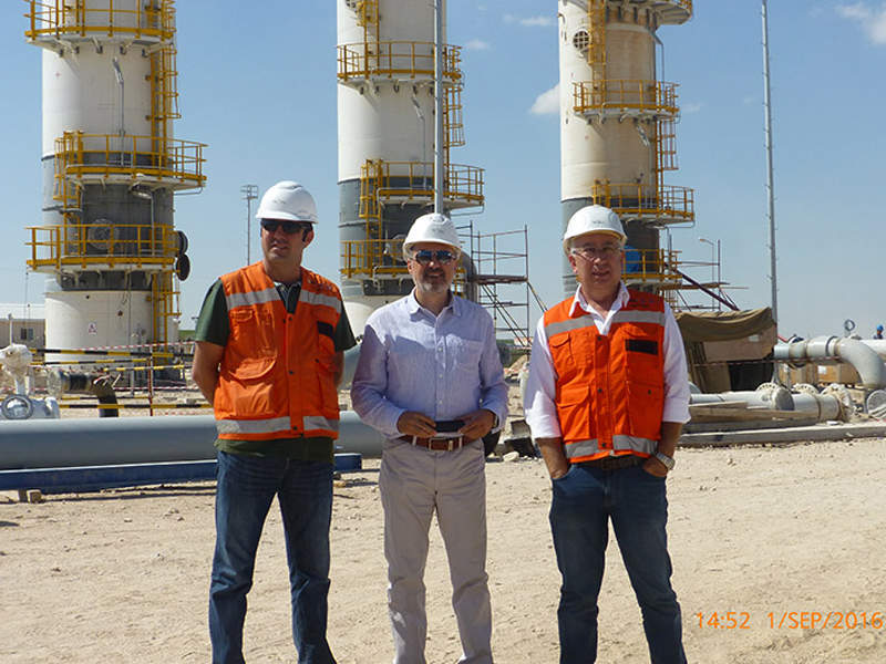 The Tuz Golu underground gas storage facility is being developed at an estimated cost of $2.5bn. Credit: Troya.