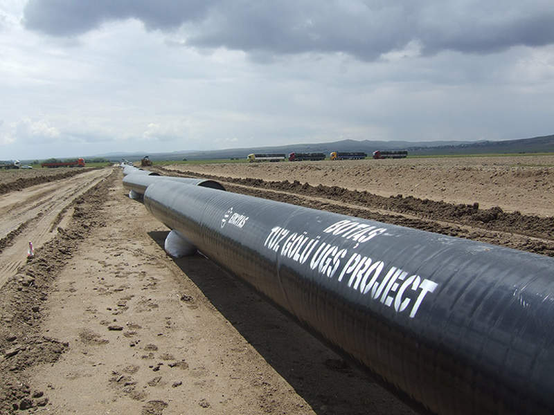 The Tuz Golu underground gas storage facility is being developed to improve energy security in Turkey. Credit: Troya.