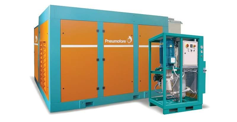 pneumofore a series compressor