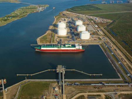 Calcasieu Pass LNG export facility
