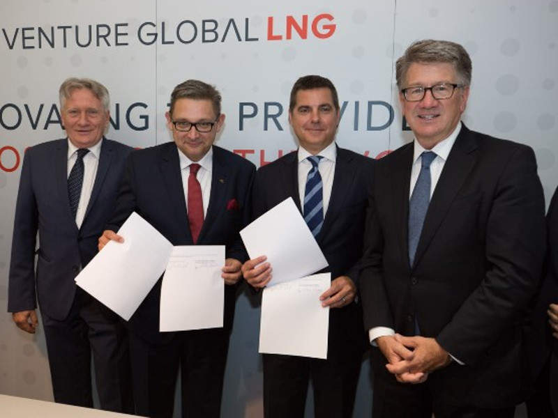 Venture Global LNG has agreed to sell 2Mtpa of LNG from the Calcasieu Pass terminal to Polish Oil & Gas Company for 20 years. Image courtesy of Polskie Górnictwo Naftowe i Gazownictwo SA.