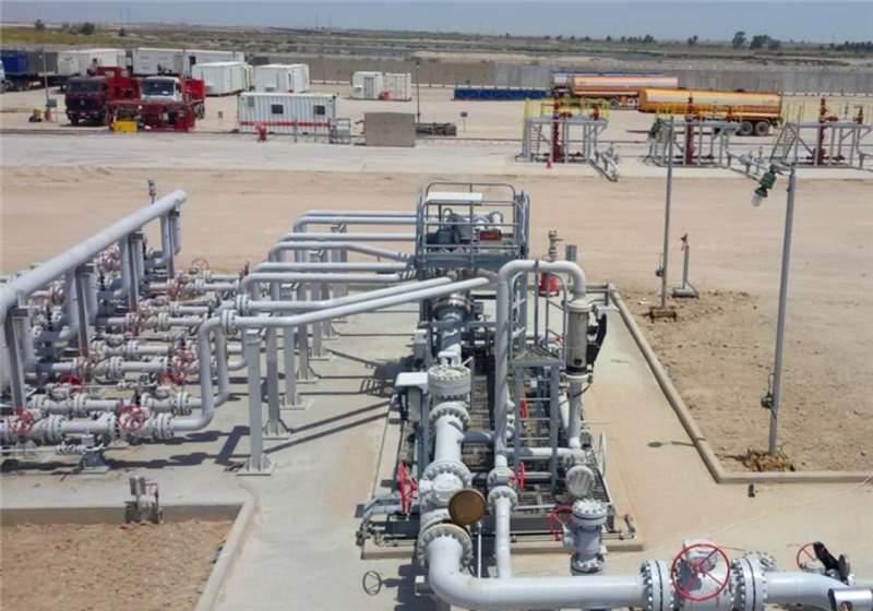 well pad West Qurna, Iraq