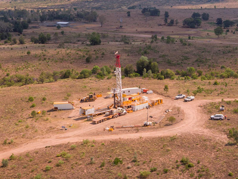 The Atlas gas field is a high-quality coal seam gas permit located in the Surat Basin. Credit: Senex Energy.