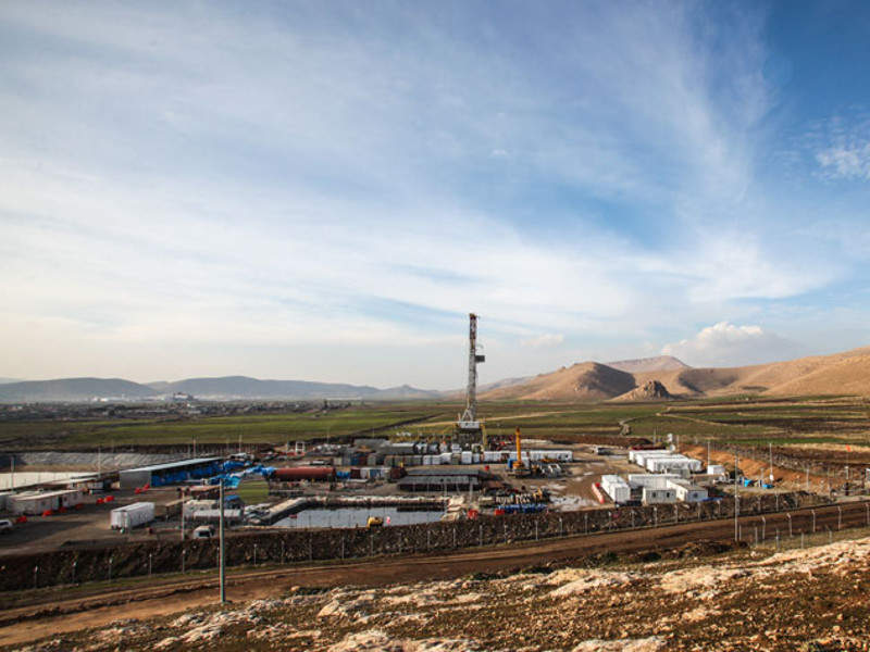 The Bina Bawi field is being developed under Genel Energy's Kurdistan Region development, including the Miran field.  Credit: Genel Energy.