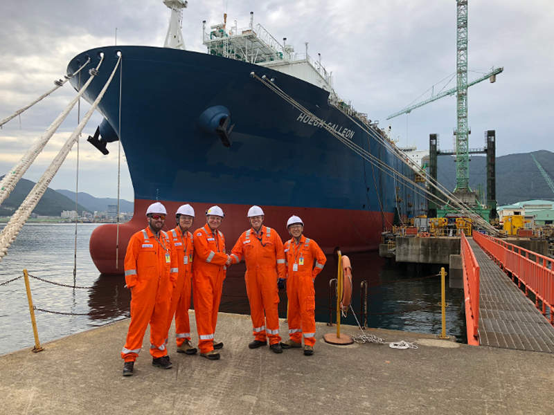 Höegh LNG's 300m-long and 46m-wide vessel will be moored at Berth 101 in Port Kembla to receive LNG cargoes from LNG carriers. Credit: Australian Industrial Energy.