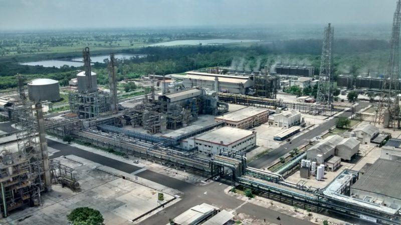 Global ammonia capacity