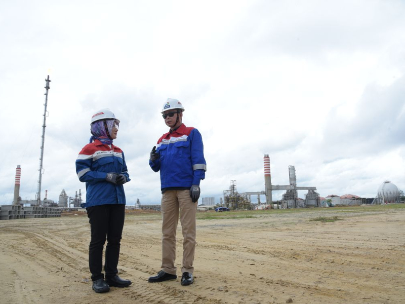 Balikpapan refinery is being upgraded under the Development Master Plan (RDMP) programme. Image courtesy of KEMENTERIAN ENERGI DAN SUMBER DAYA MINERAL.