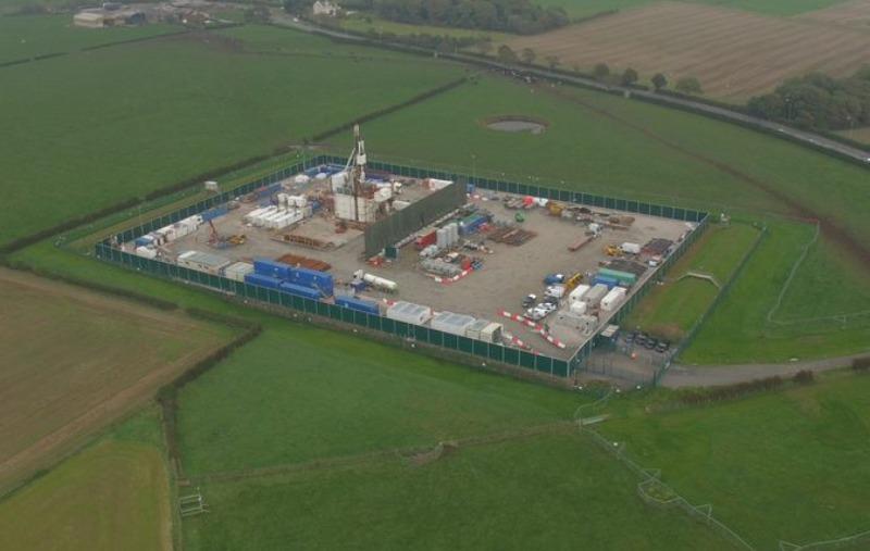 Cuadrilla PNR fracking site
