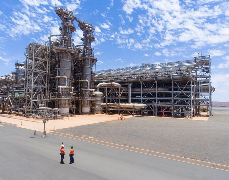 Alcoa gas supply