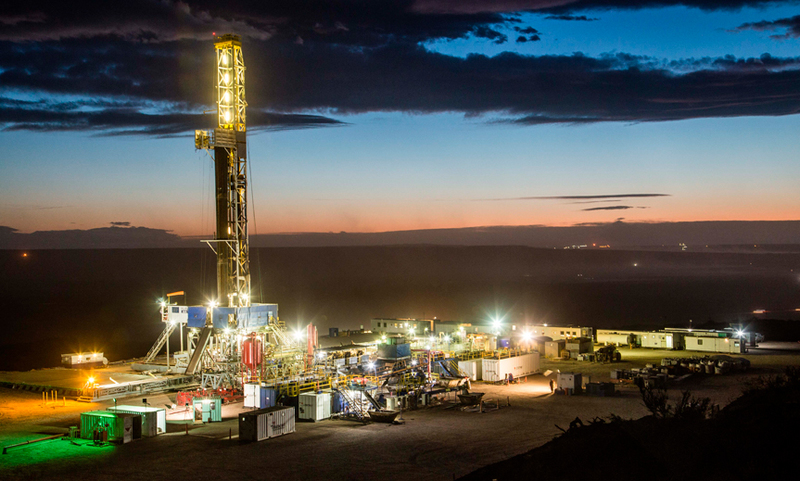 YPF, Petronas shale project
