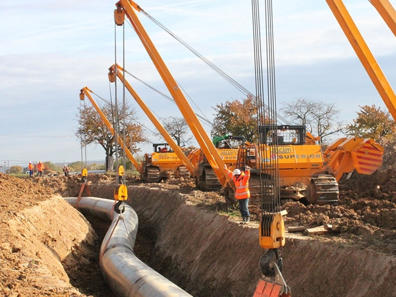 The pipeline project is being developed by Gascade Gastransport along with Fluxys Deutschland, Gasunie Deutschland and ONTRAS. Credit: SICIM S.p.A.