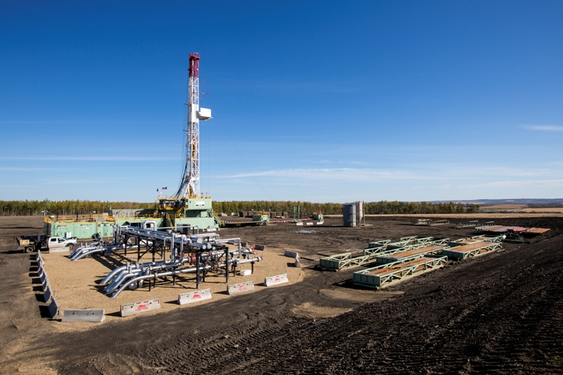 Encana Montney basin