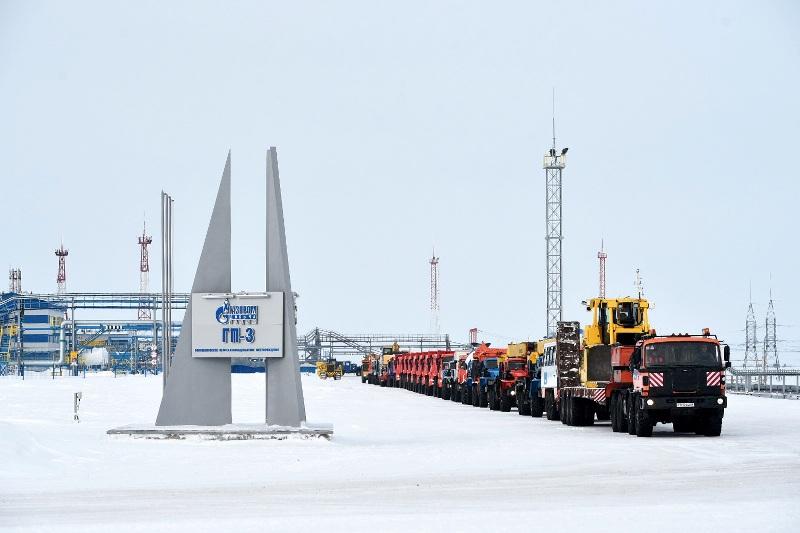 Gazprom Kharasaveyskoye field full-scale development