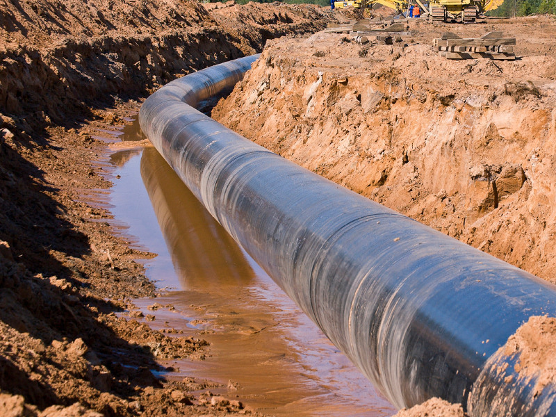 Midship natural gas pipeline project is expected to be completed by the end of 2019. Image courtesy of NPCA Online.