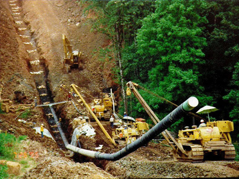 The FERC issued final approval to proceed with the construction of the Midship pipeline project in February 2019. Photo courtesy of FERC.
