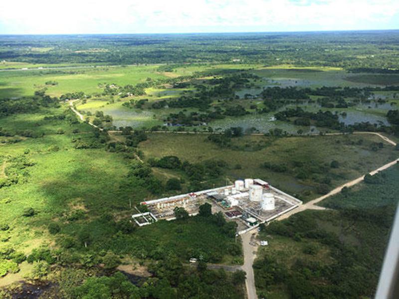 Ogarrio oil field