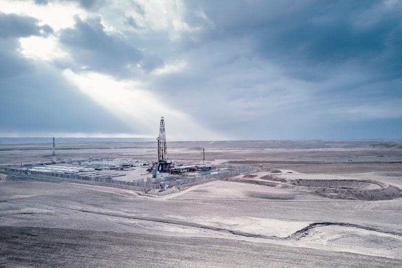 Gazprom Neft Sarqala-3 well