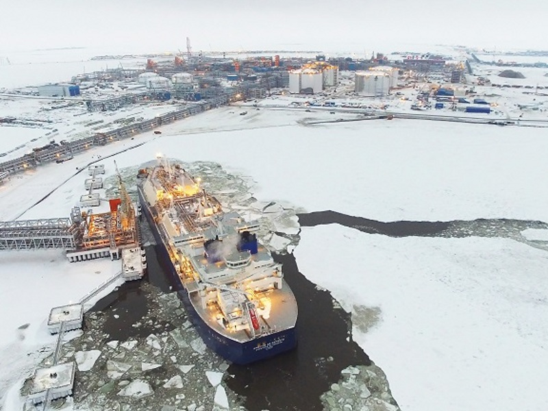 The Yamal LNG project is developed by Novatek (50.1%) and Total (20%), CNPC (20%) and Silk Road Fund (9.9%). Image courtesy of TechnipFMC.