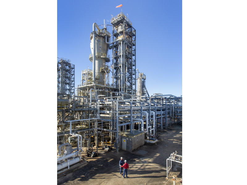 ExxonMobil is constructing a new crude unit to increase its crude refining capacity by 250,000bpd. Credit: Business Wire.