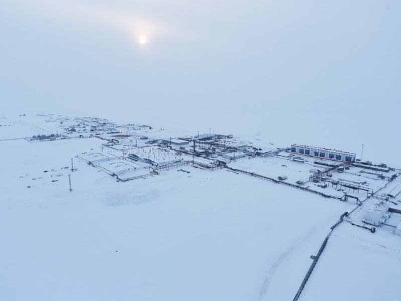 Gazprom, one of the world's biggest oil and gas companies, is developing the Kharasaveyskoye gas field in Yamal Peninsula. Image courtesy of Gazprom.